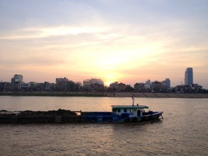 Sunset Cruise Cambodia Adventure Travel